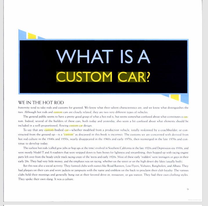 The American Custom Car - Pat Ganahl - Motorbook classics Sans-t28