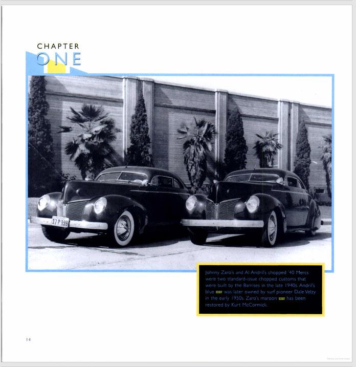 The American Custom Car - Pat Ganahl - Motorbook classics Sans-t33