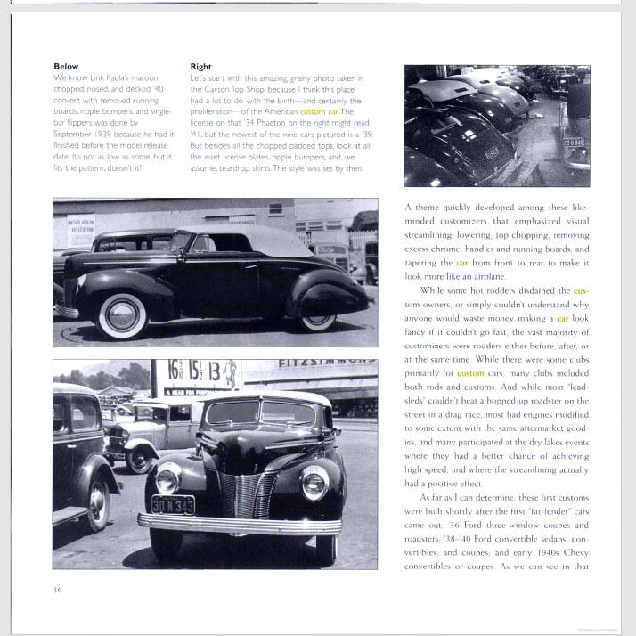 The American Custom Car - Pat Ganahl - Motorbook classics Sans-t35