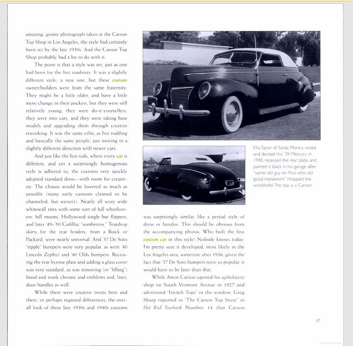 The American Custom Car - Pat Ganahl - Motorbook classics Sans-t36