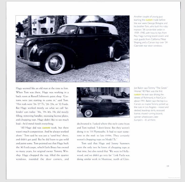 The American Custom Car - Pat Ganahl - Motorbook classics Sans-t38
