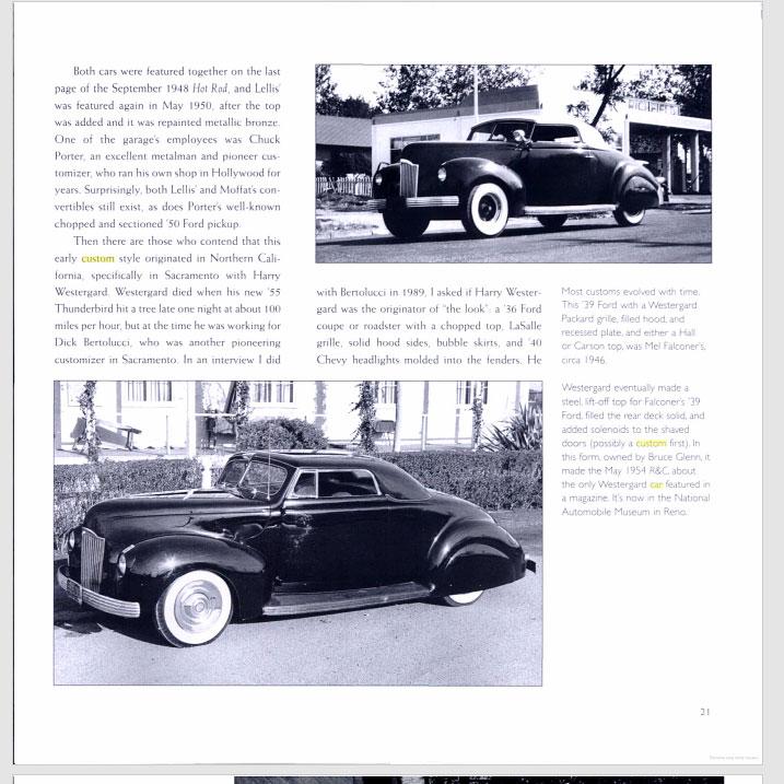 The American Custom Car - Pat Ganahl - Motorbook classics Sans-t40