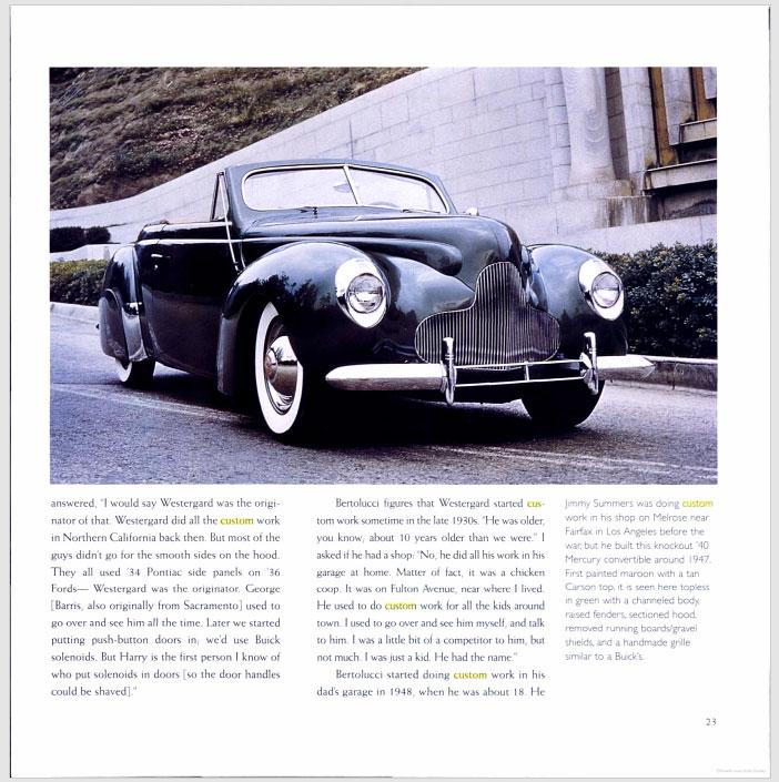 The American Custom Car - Pat Ganahl - Motorbook classics Sans-t42