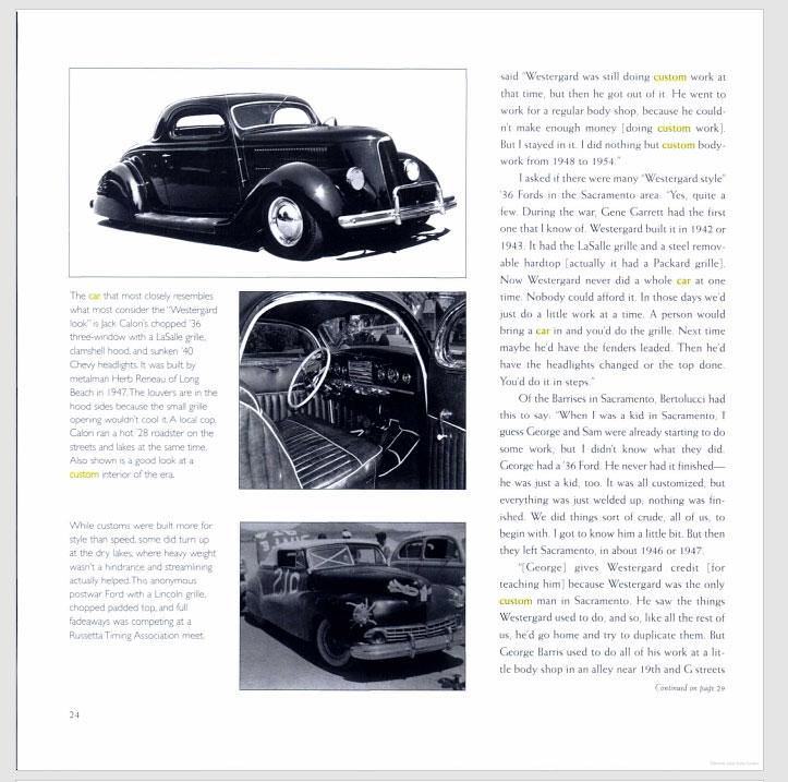The American Custom Car - Pat Ganahl - Motorbook classics Sans-t43