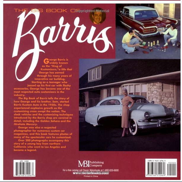 The Big Book of Barris -  David Fetherston - Motorbooks Sans-t59