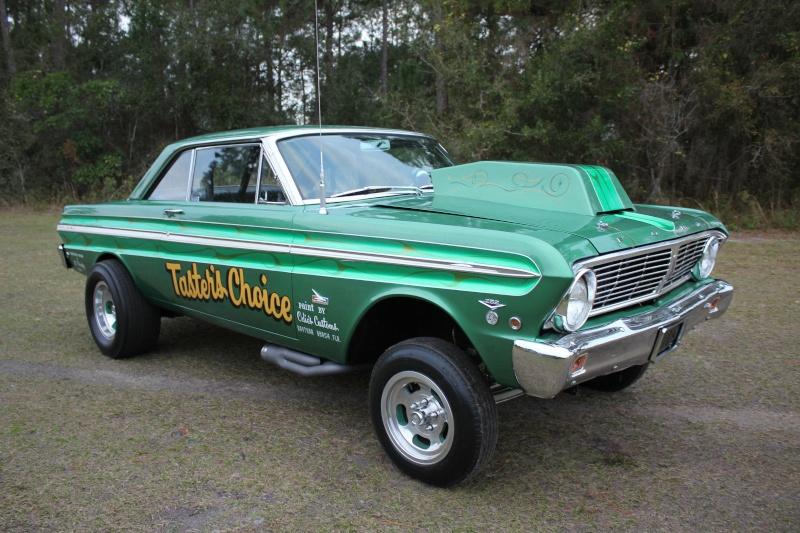 1960's Ford & Mercury gasser Sdd10