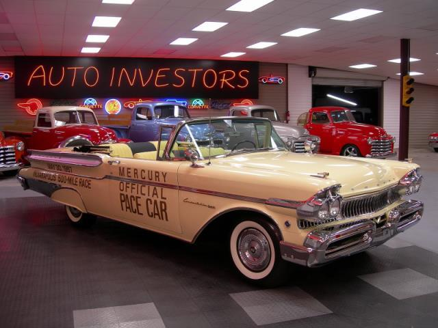 1957 Mercury Turnpike Pace Car Sl521013