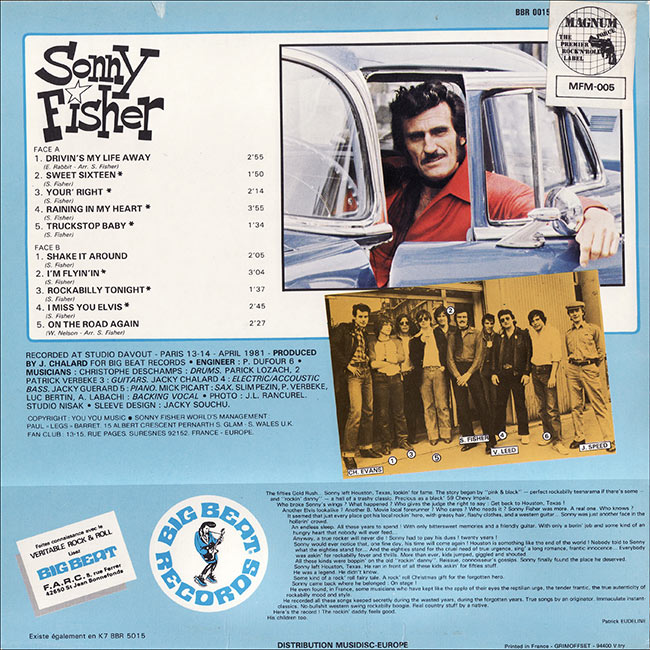 Le label - Big Beat Records - rockabilly to the 1980's  Sonny-11