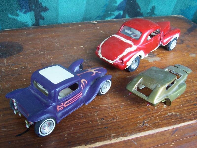 Vintage built automobile model kit survivor - Hot rod et Custom car maquettes montées anciennes Szs12