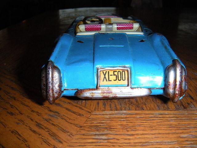 Convertible XL–500 Dream Car - Tin toys made in japan T2ec1643