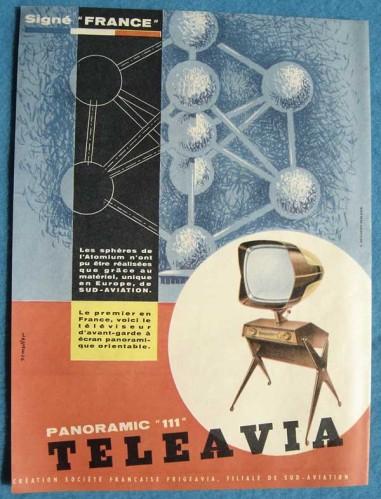 Teleavia P111 - 1957 - 1958 - Philippe Charboneau - Bertroni Teleav11