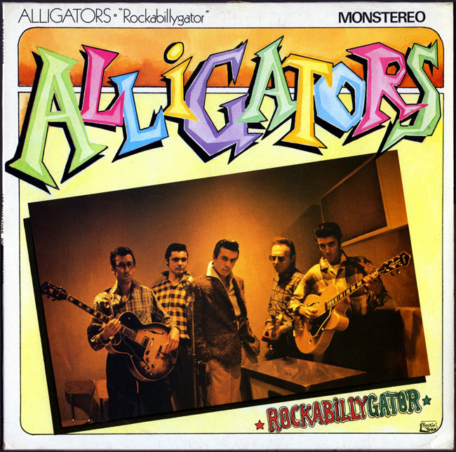 Le label - Big Beat Records - rockabilly to the 1980's  The-al10