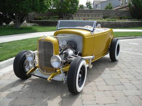 1932 Ford Closed Car Window Cranks /'32 Street Rat Rod PAIR