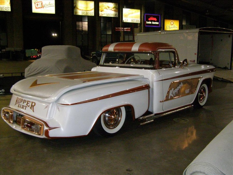 1956 Chevy pick up - Kopper Kart - George Barris Tul00410