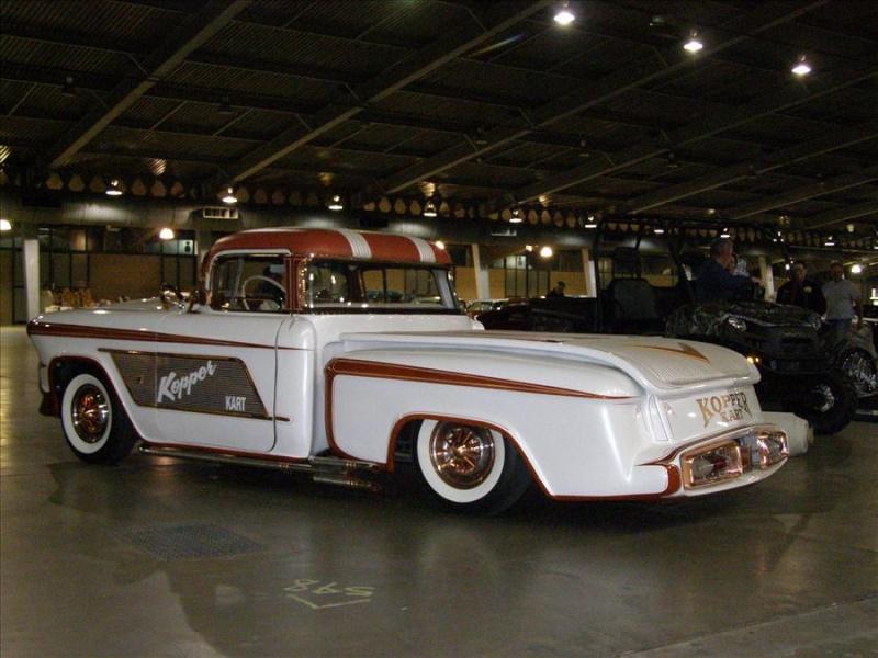 1956 Chevy pick up - Kopper Kart - George Barris Tul00612