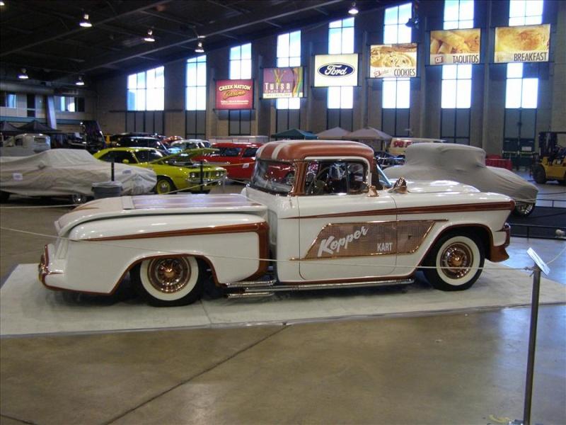 1956 Chevy pick up - Kopper Kart - George Barris Tul05610