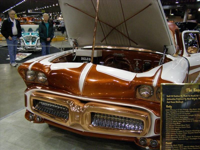 1956 Chevy pick up - Kopper Kart - George Barris Tul15210