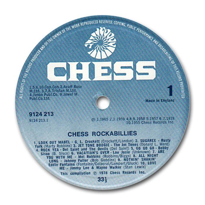 Chess Rockabillies - Fifties rockabilly to Chess, Argo & Checker records Ug-lab10