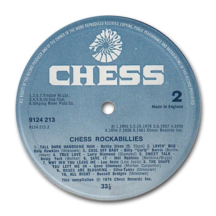 Chess Rockabillies - Fifties rockabilly to Chess, Argo & Checker records Ug-lab12
