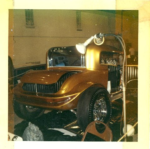 Cantilevered Coupe - Dave Pulh - 1930 Model A Un09in10