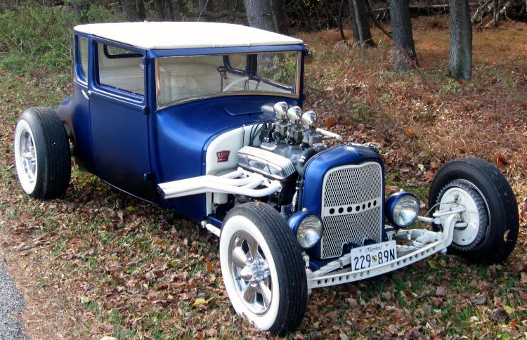 Ford T hot rod (1908 - 1927) - T rod - Page 2 User4019