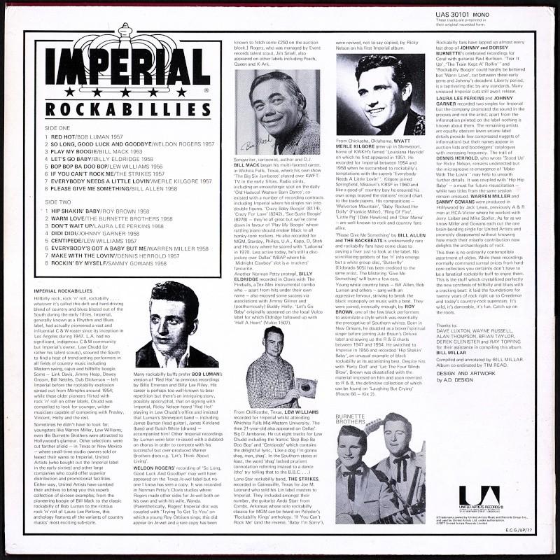 Imperial Rockabillies - 33 t - various fifties rockabilly lp Va_imp10