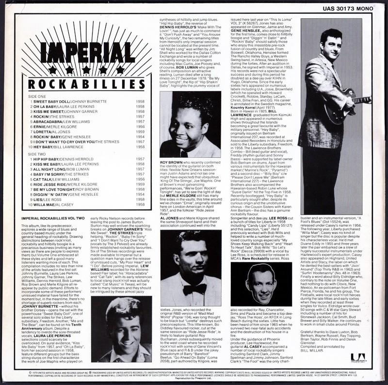 Imperial Rockabillies - 33 t - various fifties rockabilly lp Va_imp11