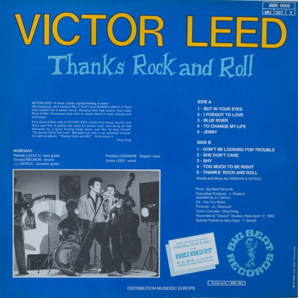 Le label - Big Beat Records - rockabilly to the 1980's  Victor13