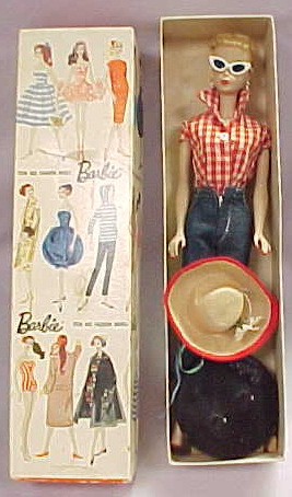 The Original Teenage Fashion Model Barbie Doll - Poupée Barbie des 1950's et 1960's Vintag15