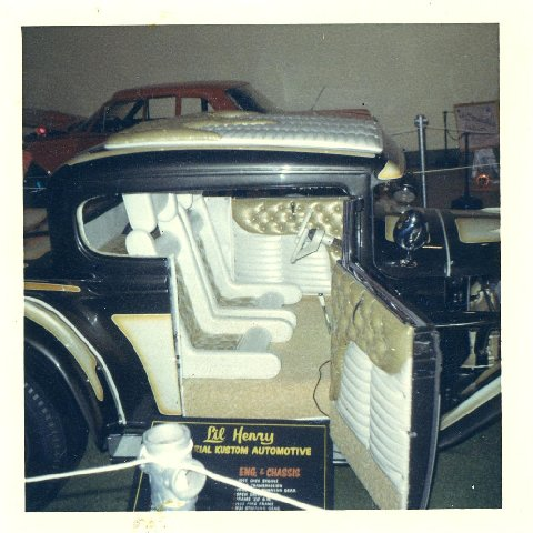 The Time Traveller - Lil' Henry - 1931 Model A - Delmar Clausen Vn20in10