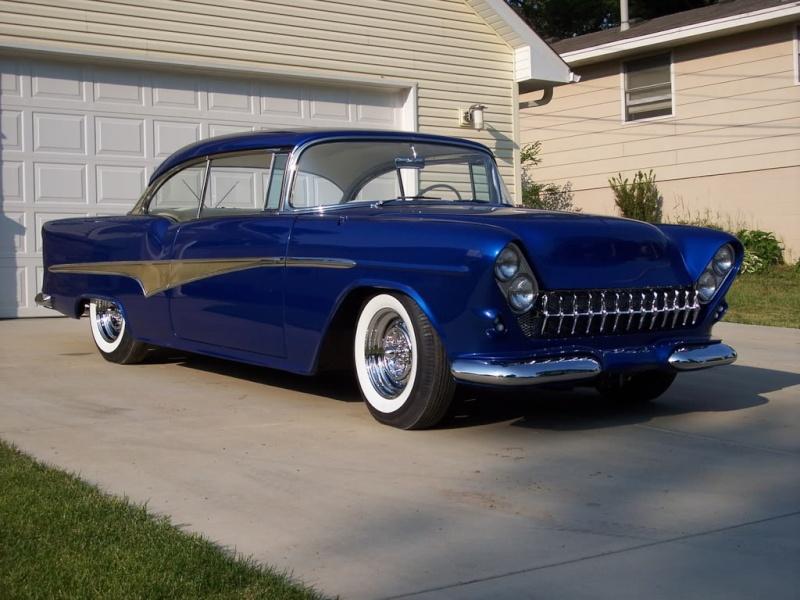 Chevy 1955 custom & mild custom Wheels10