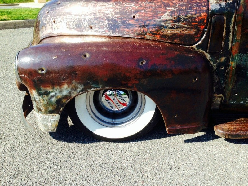 Patine, peinture et rouille - Barn find & Patina - Page 6 Yuy10