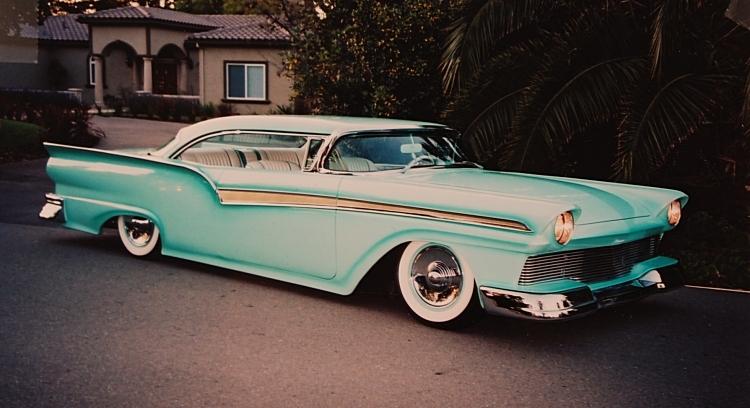 Ford 1957 & 1958 custom & mild custom  - Page 2 Zocchi20