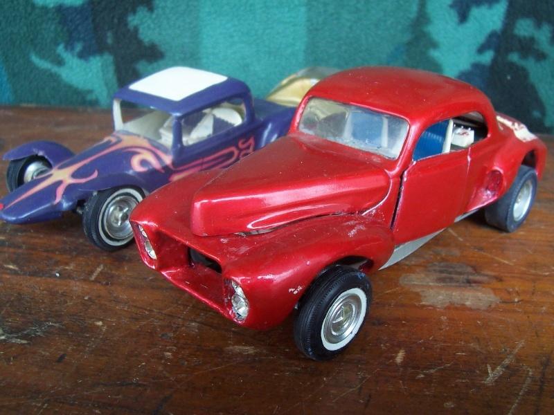 Vintage built automobile model kit survivor - Hot rod et Custom car maquettes montées anciennes Zsazs10
