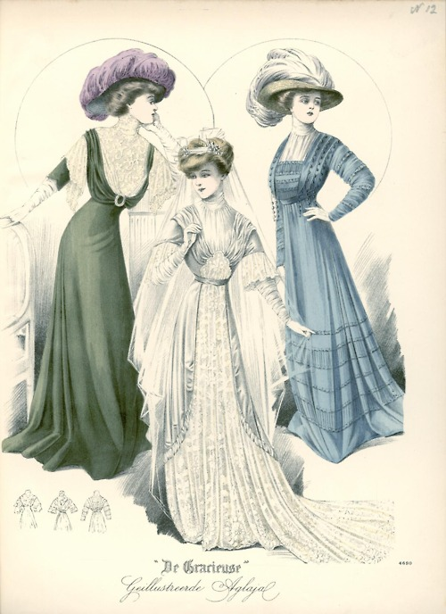 modèles anciens et gravures de modes (update sept  2014) - Page 3 1910-d10