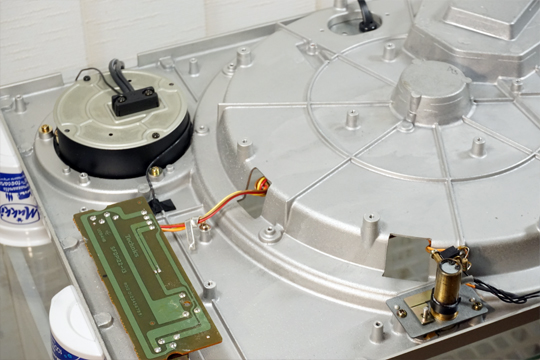 Technics SL1200MKII (SL1210MKII) smontato e calibrato (valter) 1200_122