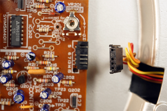 Technics SL1200MKII (SL1210MKII) smontato e calibrato (valter) 1200_413