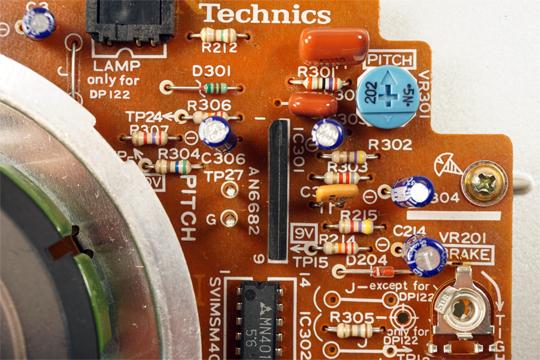 Technics SL1200MKII (SL1210MKII) smontato e calibrato (valter) 1200_415