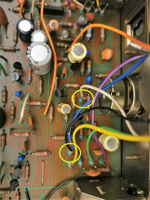 amplificatore pioneer sa-6500 II - problema con audio alto all'accensione 3nb10
