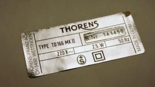 Piatto Thorrens TD 166 MK II Dsc03310