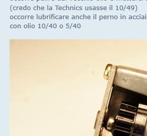 Technics SL1200MKII (SL1210MKII) smontato e calibrato (valter) Ec110