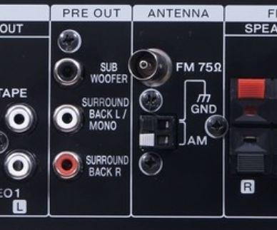 Collegare diffusori surround attivi in un ampli Pre_ou10