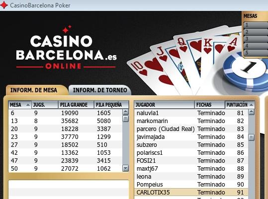 1000€ cabalgata papa noel en casinobarcelona.es con premio añadido Pack en burbuja 07/12/2013 Clasif11