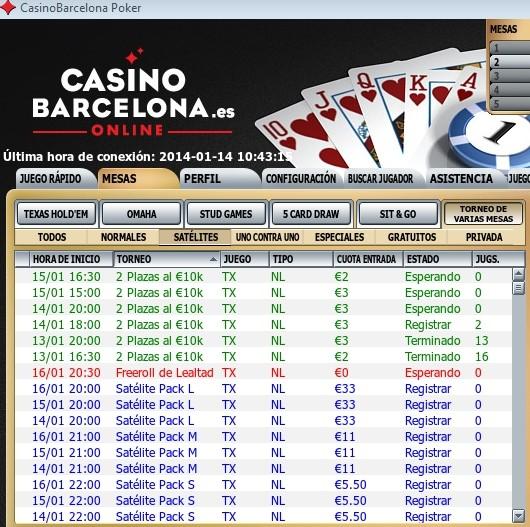 clasificatorios para jugar en vivo en casinobarcelona.es 14/01/2014 Clasif12