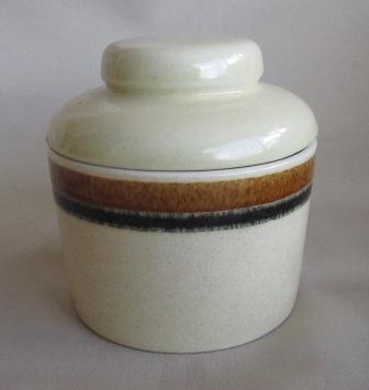 Earthstone sugar bowl and lid Earths10