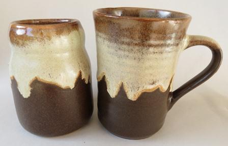 Spice pots are (mostly) Beach Artware for sure Kiln_c15