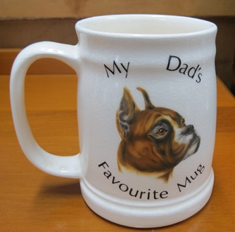 Dad's Favourite mugs. One Aquila and one Orzel probably  X_aqui12