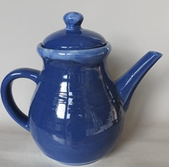 For gallery.  Clay Craft blue teapot X_clay14