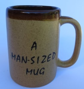Orzel pub mug with nick in base  X_orze16