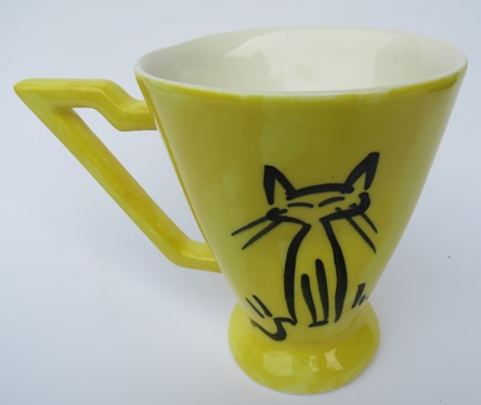 Stage Artware crazy cat mug  X_stag11